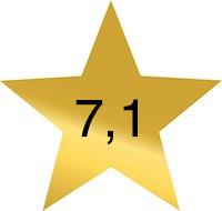 7 komma 1