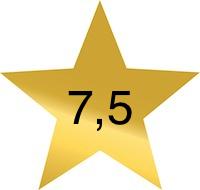 7 komma 5