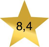 8 komma 4
