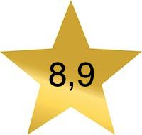 8 komma 9