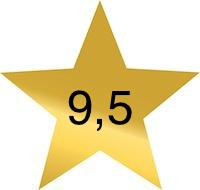 9 komma 5
