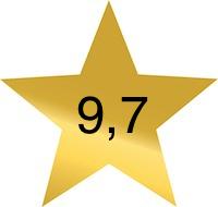9 komma 7
